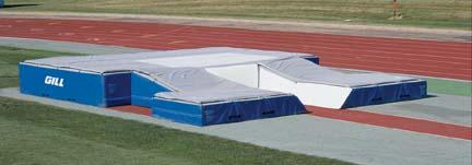 International Double-Front Pole Vault Landing System