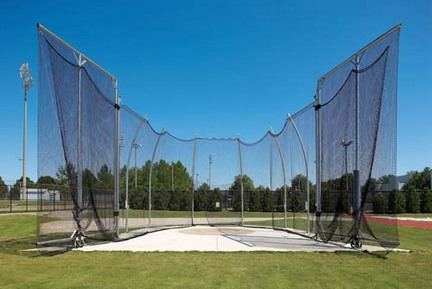 Ground Sleeve Kit for the NCAA Hammer / Discus Cage