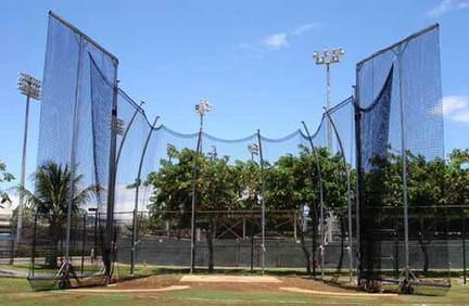 Replacement Cage Net for NCAA Double Ring Tall Hammer / Discus Cage