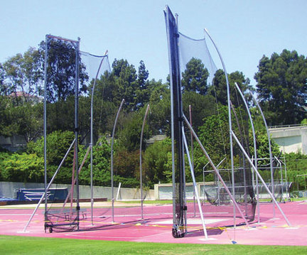 IAAF Tall Hammer / Discus Cage