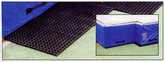 Polymer Pit Platform for the Collegiate High Jump Landing System