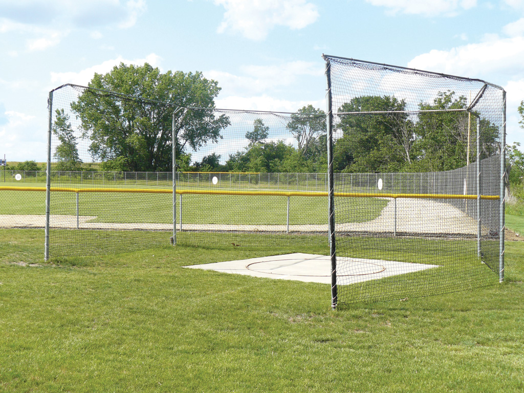 ProDown Discus Cage with Sleeves