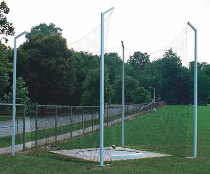 Steel Shot Put Cage