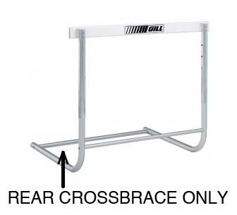 Rear Crossbrace Replacement Part (for the Scholastic Aluminum Hurdle)