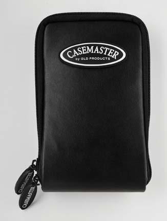 Mini Pro Black Leather Dart Case