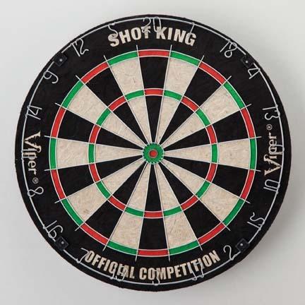 Shot King Bristle Dartboard