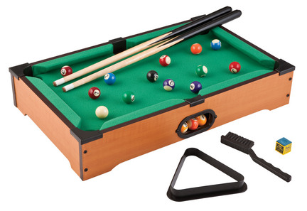 Portable Table Top Billiards Game