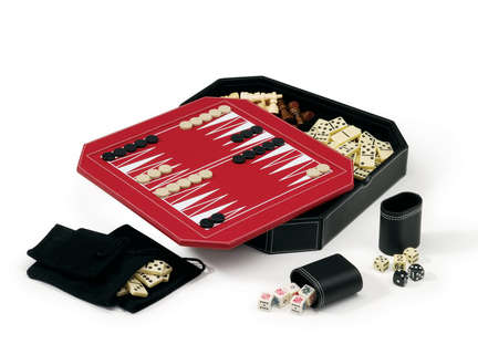Octagon 5-In-1 Combo Game Set