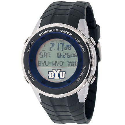 Brigham Young (BYU) Cougars NCAA Schedule Watch from Game Time