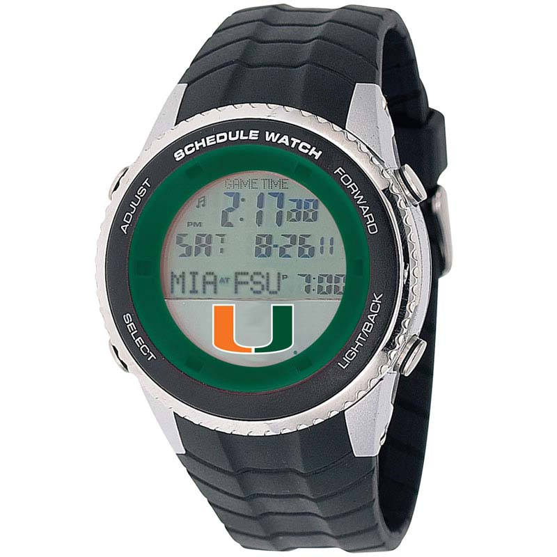 Miami Hurricanes NCAA Schedule Watch from Game Time