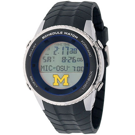 Michigan Wolverines NCAA Schedule Watch from Game Time