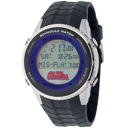 Mississippi (Ole Miss) Rebels NCAA Schedule Watch from Game Time