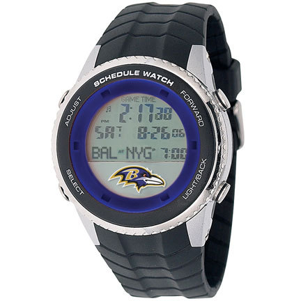 Baltimore Ravens Schedule Watch from Game Time