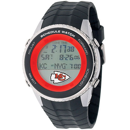 Kansas City Chiefs Schedule Watch from Game Time