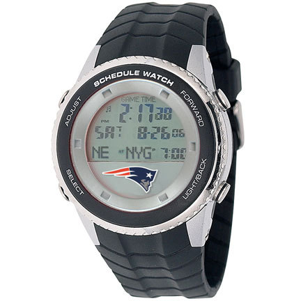 New England Patriots Schedule Watch from Game Time