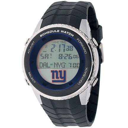 New York Giants Schedule Watch from Game Time