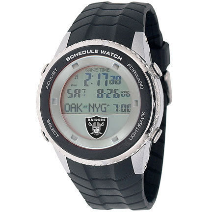 Oakland Raiders Schedule Watch from Game Time