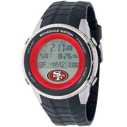 San Francisco 49ers Schedule Watch from Game Time
