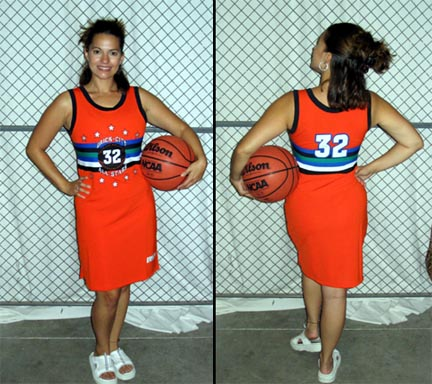 Brick-City Ladies' Streetball All Stars Jersey Dress  - X-Large (14)