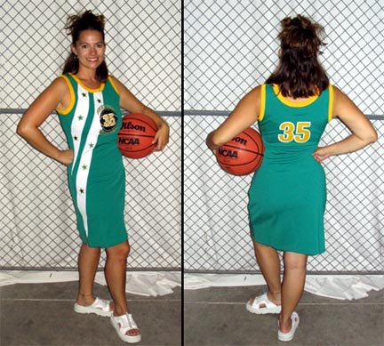 Seattle Ladies' Streetball All Stars Jersey Dress
