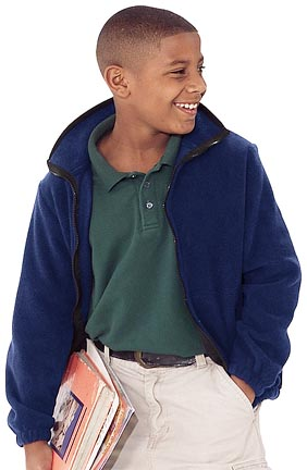 "Youth ""Blazer"" Canyon Fleece Jacket From Holloway Sportswear"