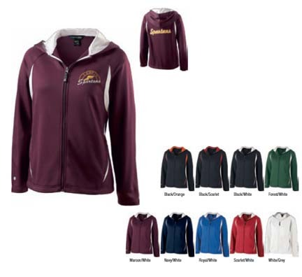 """Ladies' """"Synergy"""" Hooded Jacket from Holloway Sportswear"""
