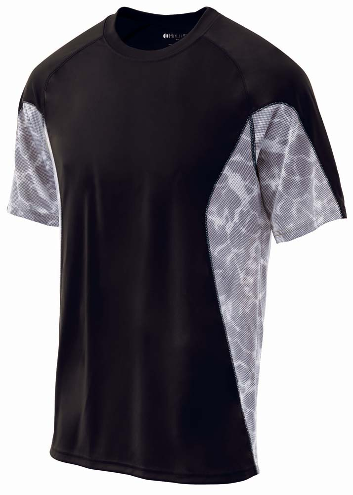 TIDAL Wicking Training Shirt (Mens / Adult) - Short Sleeve from Holloway