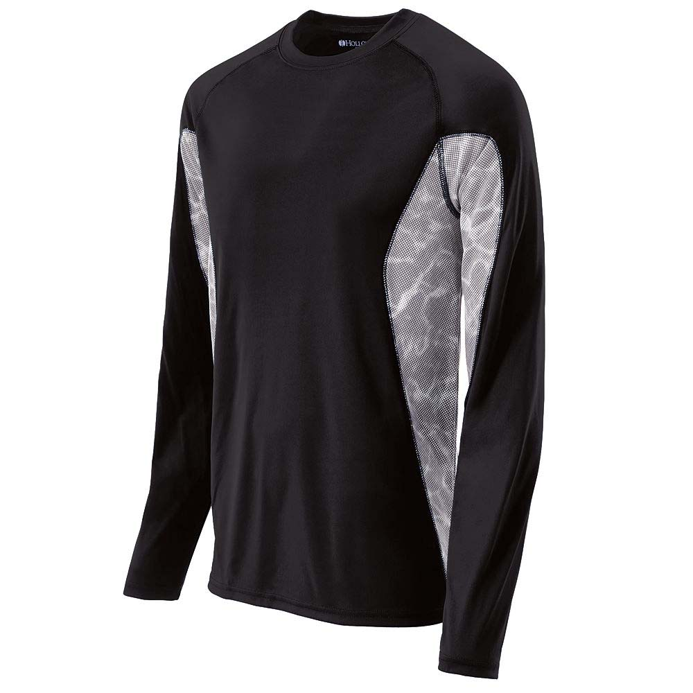 TIDAL Wicking Training Shirt (Mens / Adult) - Long Sleeve from Holloway