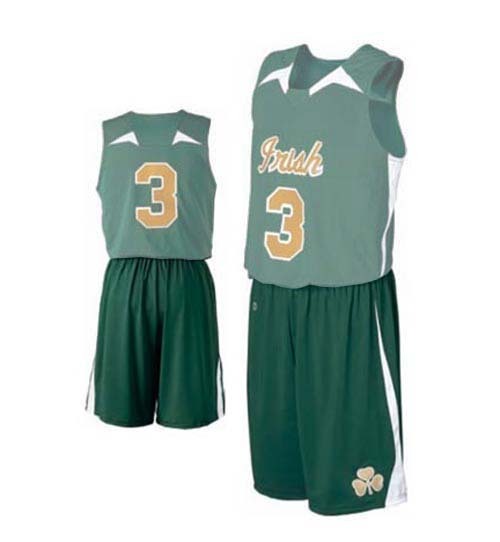 "Men's ""Irish"" Basketball Shorts from Holloway Sportswear"