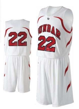"Men's ""Dunbar"" Basketball Jersey / Tank Top (2X-Large) from Holloway Sportswear"