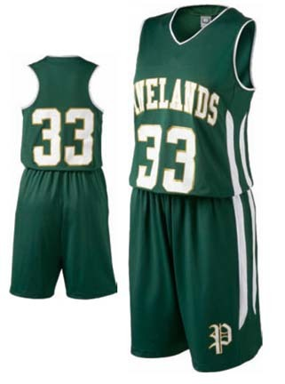 "Ladies' ""Pinelands"" Basketball Shorts from Holloway Sportswear"