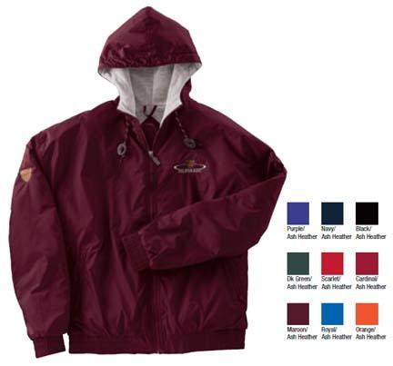 Triumph Unisex Nylon Sweatshirt Lined Jacket (2X-Large) from Holloway Sportswear