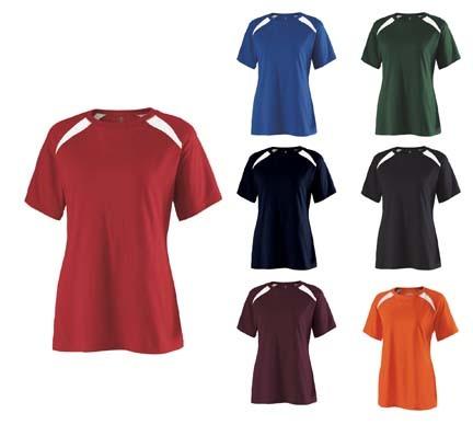 """Response"" Ladies' Cotton Tee Shirt from Holloway Sportswear thumbnail"