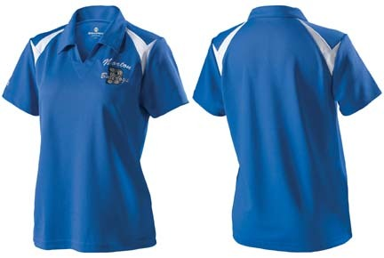 """Laser"" Ladies Knit Shirt from Holloway Sportswear thumbnail"