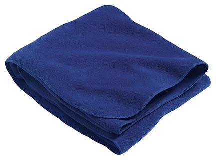 Stadium Canyon Fleece Blanket From Holloway Sportswear - Matching Merrowed Edge