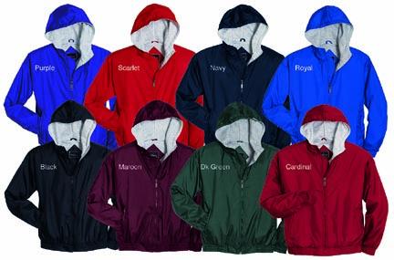 "Youth ""Triumph"" Nylon Sweatshirt Lined Jacket From Holloway Sportswear"