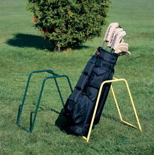 Green Economy Caddy Golf Bag Rack