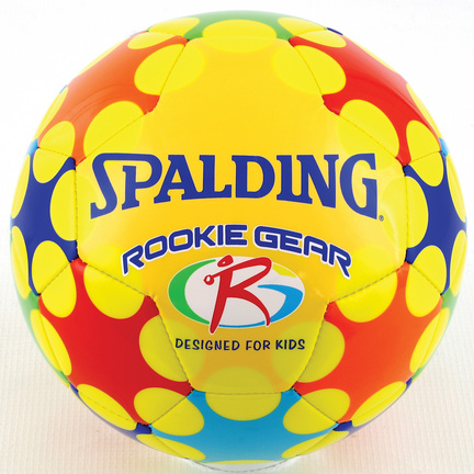 Spalding Rookie Gear Soccer Ball, Yellow - Size 3