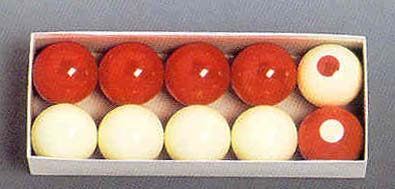 "2 1/8"" Belgian Aramith Standard Bumper Ball Set from Imperial International"
