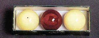 "2 3/8"" Belgian Aramith Carom Billiard Ball Set (3 Ball Set) from Imperial International"