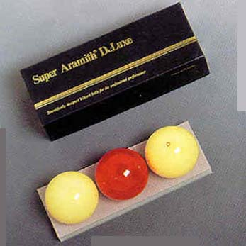 61.5 mm Super Aramith Deluxe Carom Billiard Ball Set (3 Ball Set) from Imperial International IMP-11-125