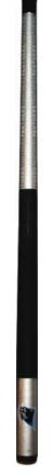 """Image of 57"""" Carolina Panthers NFL Team Logo 2 Piece Cue from Imperial International"""