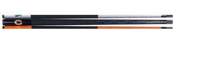 """Image of 57"""" Chicago Bears NFL Team Logo 2 Piece Cue from Imperial International"""