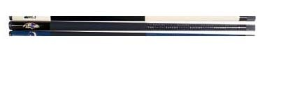 """Image of 57"""" Baltimore Ravens NFL Team Logo 2 Piece Cue from Imperial International"""