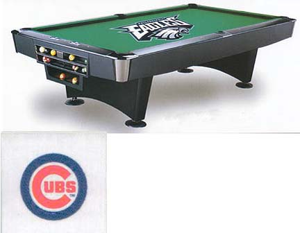 7' Chicago Cubs Bed & Rail Cloth (CLOTH ONLY) IMP-14-2005-CLOTH7