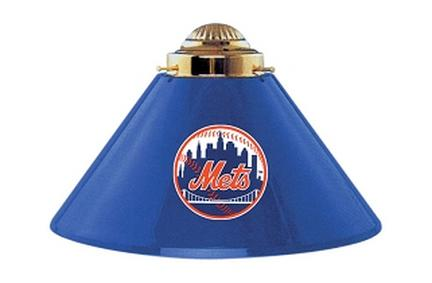 New York Mets MLB Licensed Acrylic 3 Shade Team Logo Lamp from Imperial International