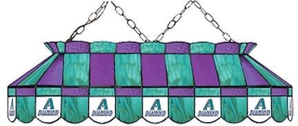 "Arizona Diamondbacks MLB Licensed 40"" Rectangular Stained Glass Lamp from Imperial International"