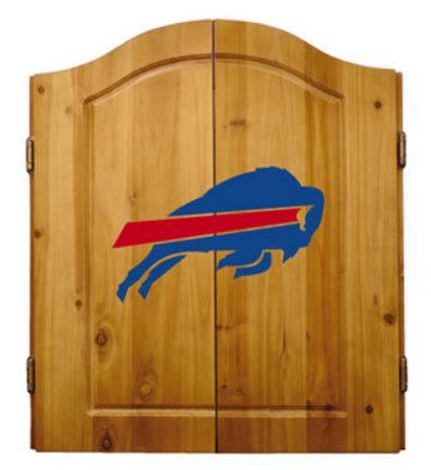 Buffalo Bills NFL Dart Cabinet and Dartboard Set by Imperial International