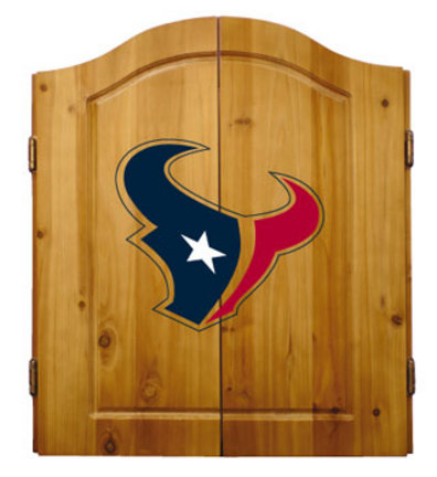 Houston Texans NFL Dart Cabinet and Dartboard Set by Imperial International