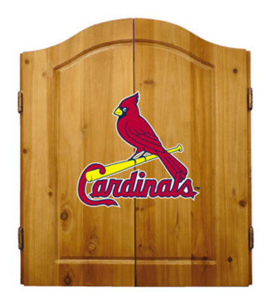 St. Louis Cardinals MLB Dart Cabinet and Dartboard Set by Imperial International